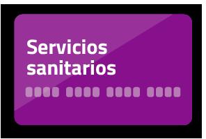 Tarjeta Servicios sanitarios