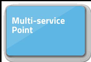 Multi-service point